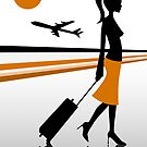 airport  by Micheline Kanzy