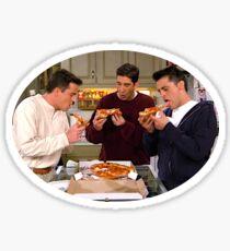 Ross Chandler Joey Friends Pizza  Sticker