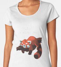 Red Panda - Lazy to do list Women's Premium T-Shirt