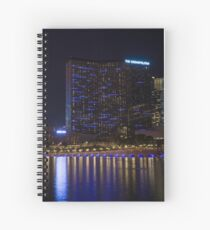 Cosmopolitan Vegas Reflections Spiral Notebook