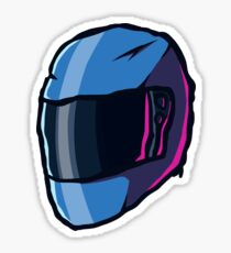 Hotline Miami Biker Helmet(Alternative) Sticker