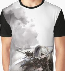 Nier Automata - 2b Graphic T-Shirt