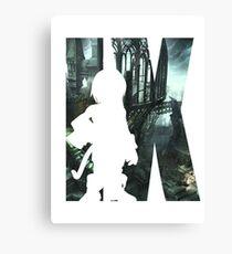 Final Fantasy IX Zidane Cutout Canvas Print