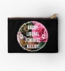 Angry Liberal Feminist Killjoy Studio Pouch