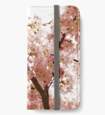 Pink Cherry Blossoms - Impressions Of Spring iPhone Wallet/Case/Skin