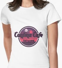 Cantina Band Cafe Tatooine Shirt Womens Fitted T-Shirt