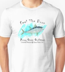 DEEP SEA FISHING TUNA ANGRY OCEAN OUTFITTERS FISH ATLANTIC PACIFIC CARIBBEAN SEA Unisex T-Shirt