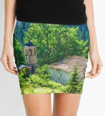 The Village Church - Impressions of Mountains and Forests Mini Skirt