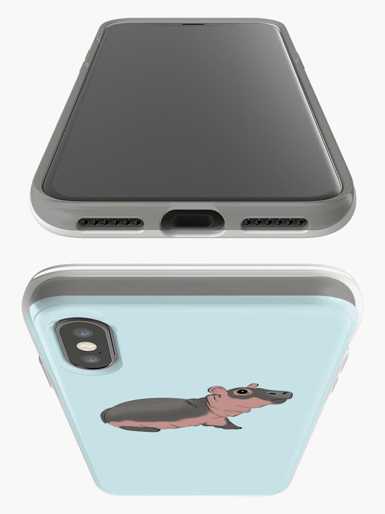 Alternative Ansicht von Fiona das Baby Hippo iPhone-Hülle & Cover