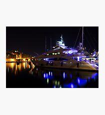 Reflecting on Malta - Grand Harbour Marina Photographic Print