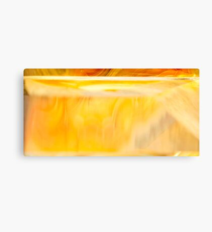 Golden Shadow Canvas Print