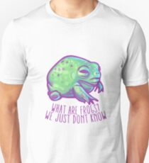 What are frogs? Unisex T-Shirt