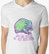 What are frogs? Men's V-Neck T-Shirt