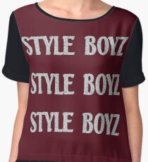 I'm a Style Boy for Life Chiffon Top