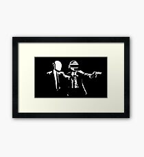 Daft Punk Pulp Fiction Framed Print
