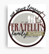 Fratellis Familienrestaurant Leinwanddruck