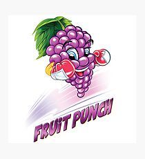 Fruit Punch Punny Photographic Print
