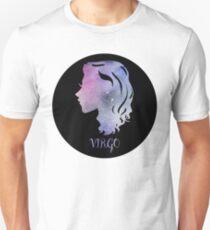Watercolor Zodiac Virgo Sign Unisex T-Shirt