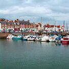 Anstruther harbour II by Tom Gomez