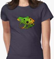 Frog I Womens Fitted T-Shirt