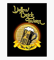 Yellow Brick Photographic Print