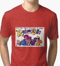 My Little Pony: Friendship is Magic-The Retrostyle Series Tri-blend T-Shirt