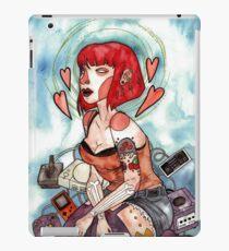 Videogame Babe iPad Case/Skin