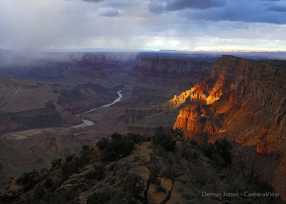 Desert View - Grand Canyon National Park by Dennis Jones - CameraView
