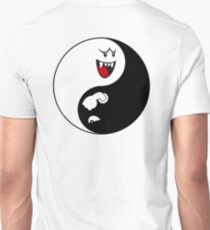 Super Mario Boo and Bill - Ying Yang Unisex T-Shirt