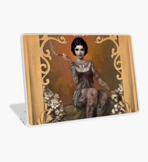 The Amazing Tattooed Lady Laptop Skin