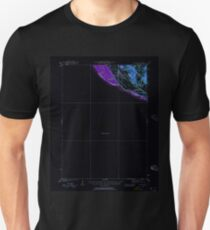 USGS TOPO Map Iowa IA Miles 175158 1935 62500 Inverted Unisex T-Shirt