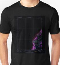 USGS TOPO Map Iowa IA Burlington 174208 1934 62500 Inverted Unisex T-Shirt