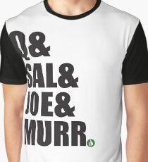 Q&Sal&Joe&Murr Graphic T-Shirt