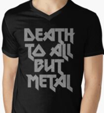Death to All But Metal Men's V-Neck T-Shirt