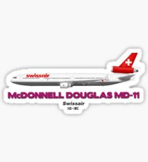 McDonnell Douglas MD-11 - Swissair Sticker
