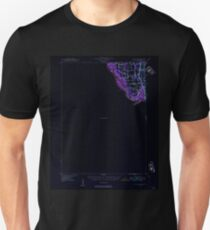 USGS TOPO Map Iowa IA Wapello 175688 1946 62500 Inverted Unisex T-Shirt