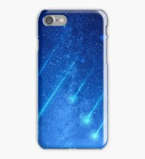 Night Sky with Shooting Stars  iPhone Case/Skin