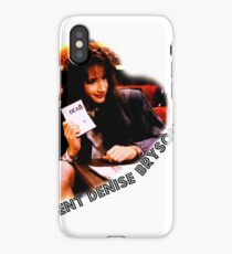 Twin Peaks FBI agent Denise Bryson iPhone Case/Skin