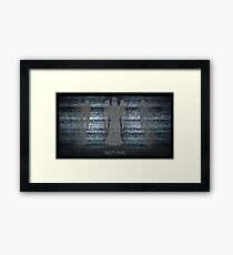 Weeping Angels and Static Framed Print