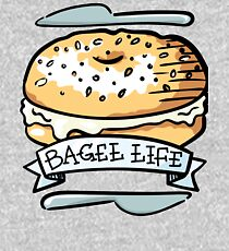 Bagel Life - Everything Bagels are Everything to Me Kids Pullover Hoodie