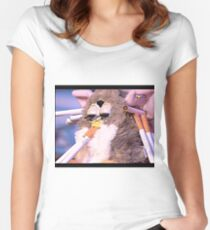 Furby's had enough of your bulls*** Women's Fitted Scoop T-Shirt