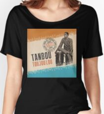 tanbou toujoulou classic haitian Women's Relaxed Fit T-Shirt