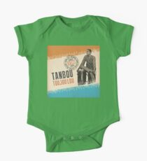 tanbou toujoulou classic haitian One Piece - Short Sleeve