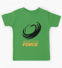 the western force Kids Tee