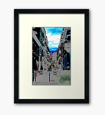 Primary Colors Framed Print