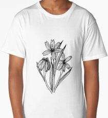 Blue Eyed Grass Long T-Shirt
