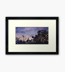 The Outskirts x MNL Framed Print