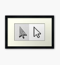Different mice, different times Framed Print