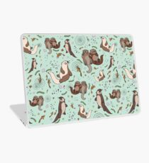 Sea Otters Laptop Skin