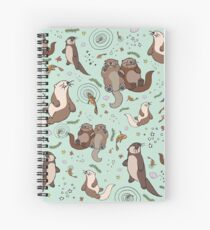 Sea Otters Spiral Notebook